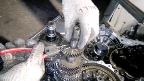 Фото ремонта МКПП VW Caddy