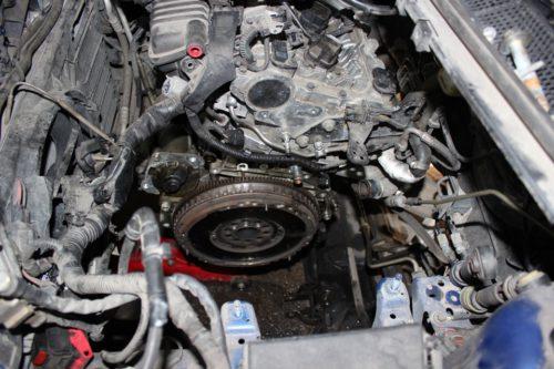 Фото замены маховика на Ford