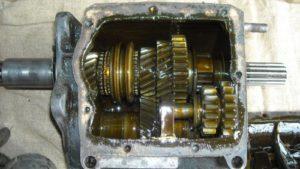 Фото ремонта КПП Daewoo Nexia