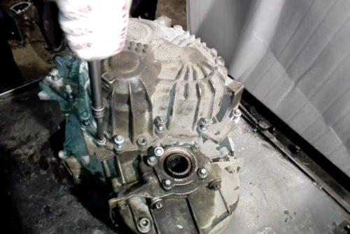 Фото ремонта КПП Форд Куга