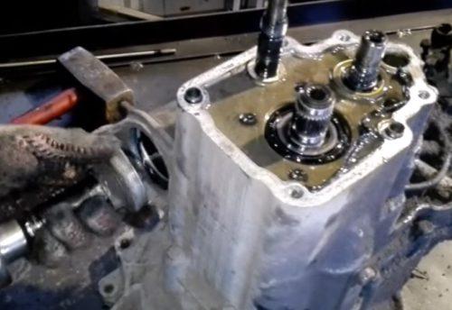 Фото ремонта МКПП Opel Kadett