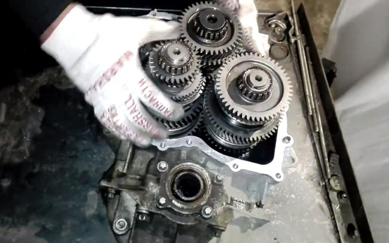 Фото ремонта МКПП Citroen C3 Aircross