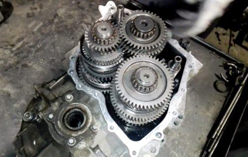 Фото ремонта МКПП Volkswagen