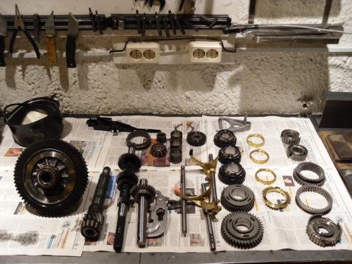 Фото ремонта МКПП Nissan Qashkuai