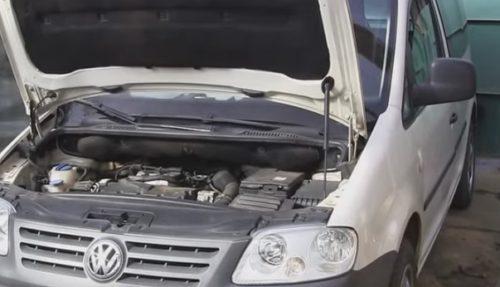 Фото замены сцепления VW Caddy