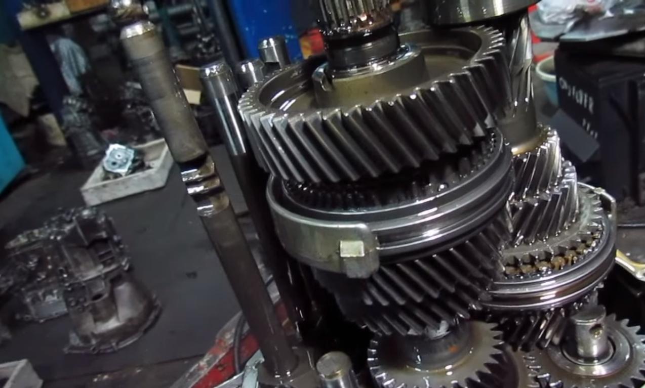 Фото ремонта МКПП Skoda Kodiaq