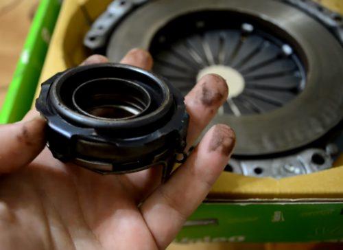 Фото замены сцепления Chevrolet Lanos