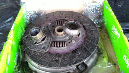 Фото замены сцепления Citroen Berlingo