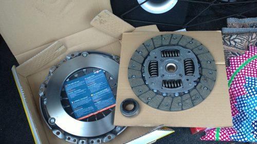 Фото замены сцепления Citroen Xsara