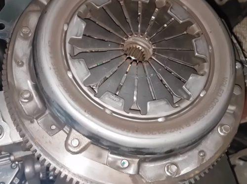Фото замены сцепления Ford Fusion