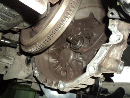 Фото замены сцепления Hyundai Santa Fe