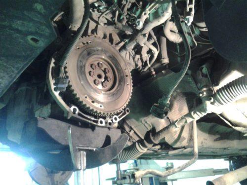 Фото замены сцепления Renault Kangoo