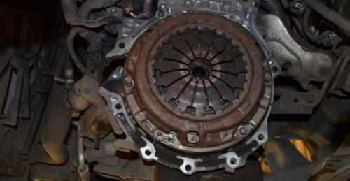 Фото замены сцепления Suzuki