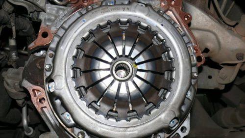 Фото замены сцепления Toyota