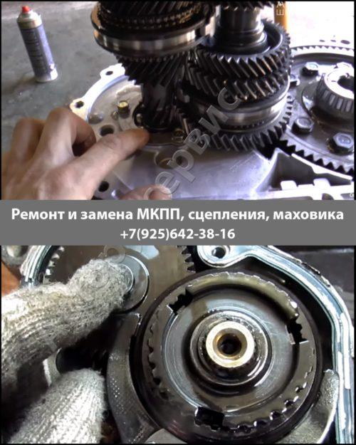 Фото ремонта МКПП Opel Astra M 20