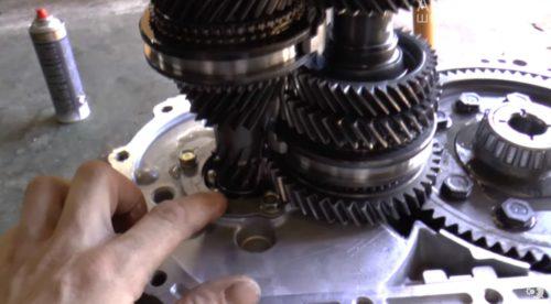 Фото ремонта МКПП Toyota Corolla 2010