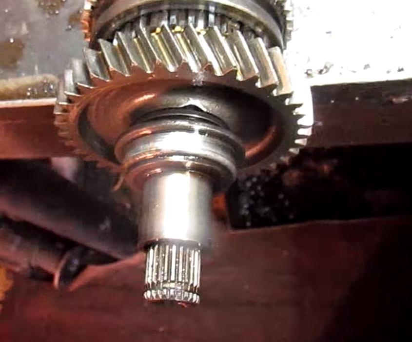 фото ремонта МКПП Peugeot 2008